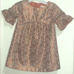Beautiful gold stitching dress worn one time only
